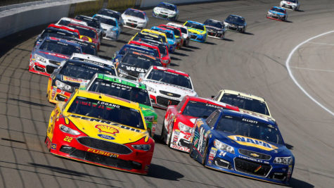 NASCAR, Where Sitting Is a Sport