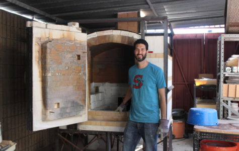 Engineering Academy Builds New Kiln Ceramics