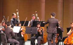 Concertmaster Directs Orchestra