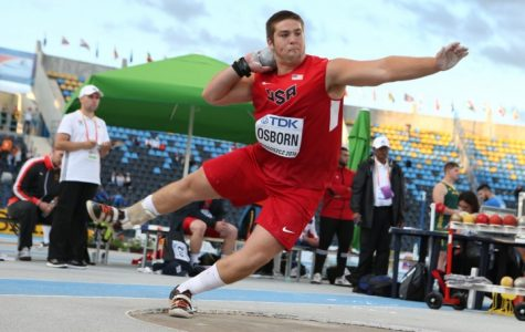 Bronson Osborn wins a medal for the USA at the International Association of Athletics Federations (IAAF) World Championships in Poland.