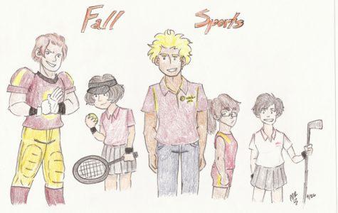 Fall sports begin their season.