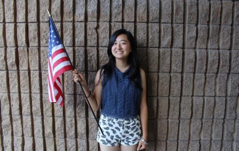 May Yamaguchi, from Japan, will spend her junior year at Esperanza.
