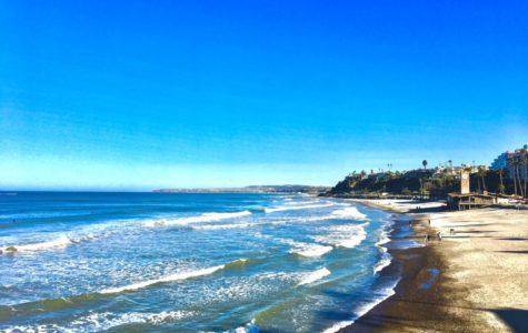 Waves of San Clemente Beach