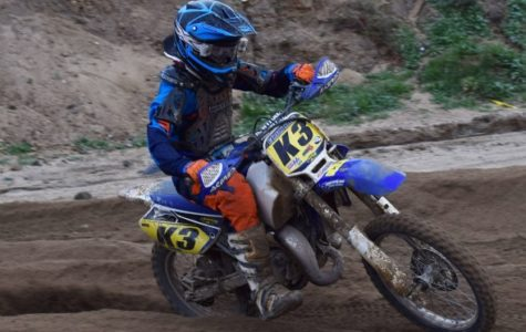 Carson Baehr (K3) scooped up the 85cc Mini Intermediate victory (Google Commons).