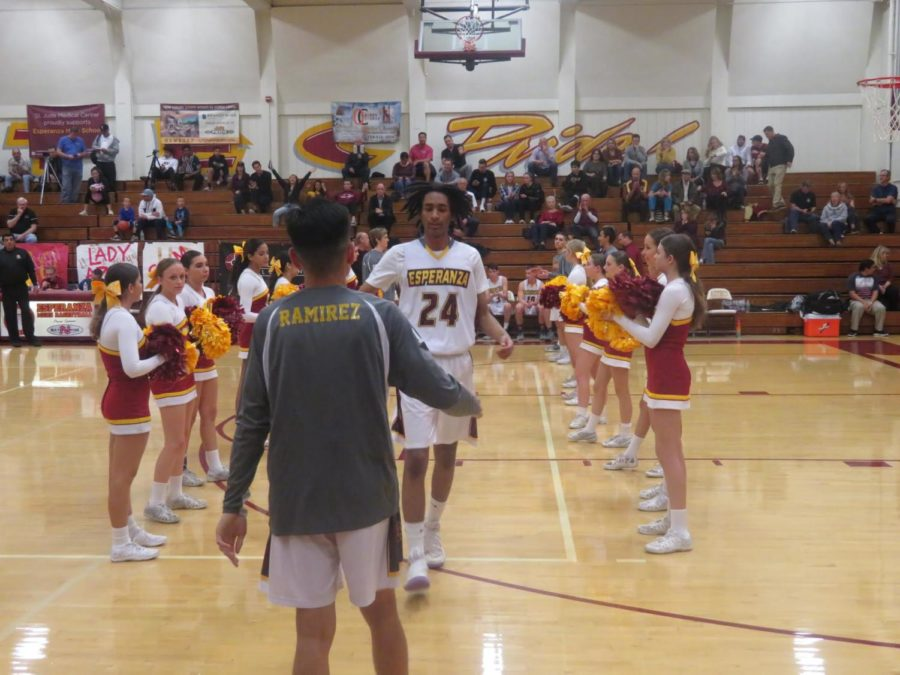 Men's Basketball playing their last league game before their first round of CIF on Jan. 29 2019.