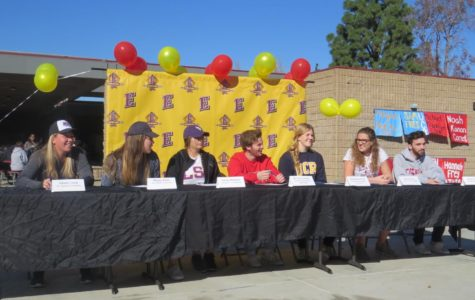 Senior Athletes Commit to Colleges