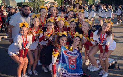 Varsity Cheer wins Second in State and Qualifies for Nationals