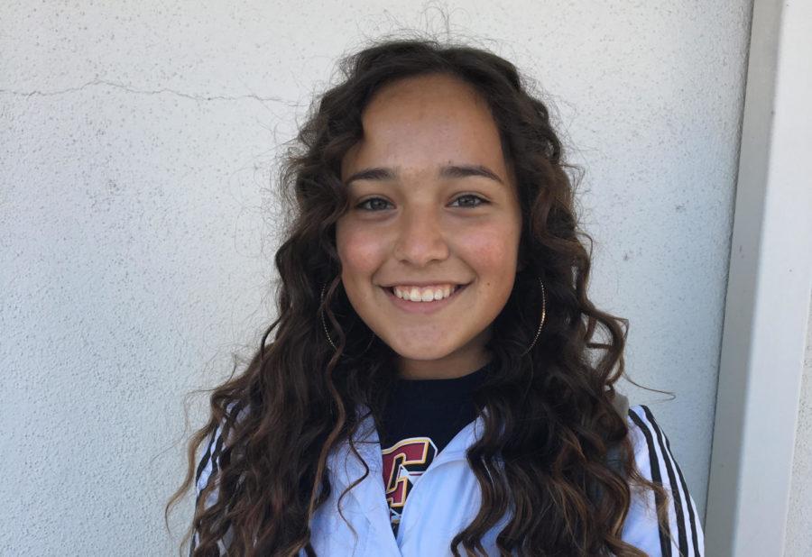 Annika Castro, sophomore