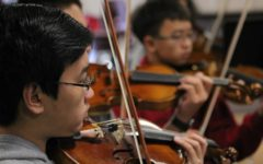Orchestra Performs at Segerstrom Center