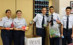 AFJROTC Organizes a Hygiene Drive