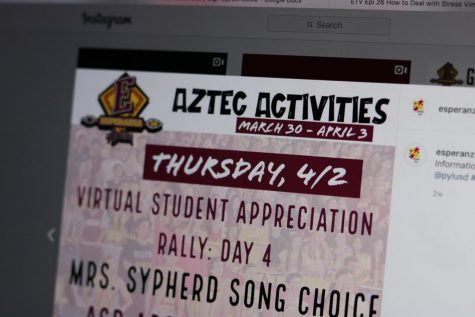 Students Appreciated in Virtual Spirit Rally