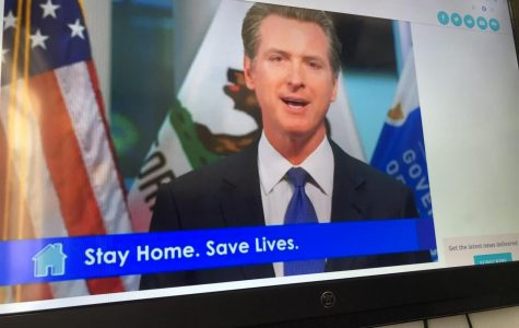Gov. Newsom telling all of California to stay home during this pandemic in order to save lives.
