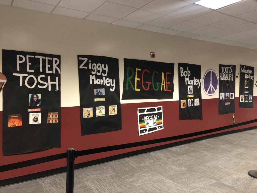 ASB covers the hallways to celebrate Black History Month.